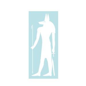 エジプト神話ステッカー アヌビス
