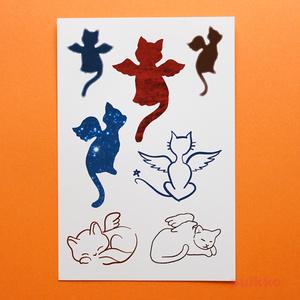 猫天使 タトゥーシール