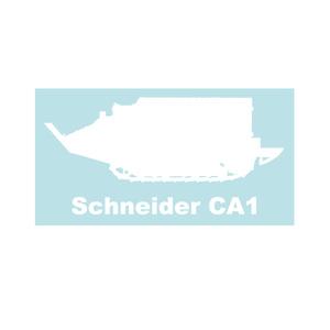 戦車ステッカー シュナイダーCA1