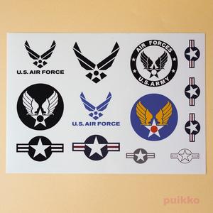 アメリカ空軍マークシール