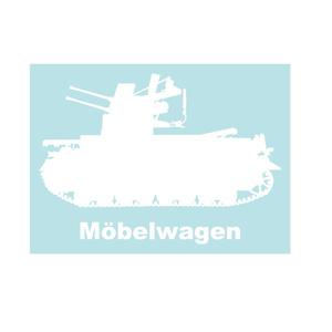 戦車ステッカー IV号対空戦車メーベルワーゲン(試作型)