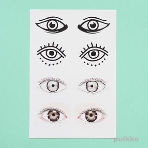 眼1 タトゥーシール