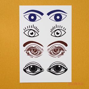 眼3 タトゥーシール
