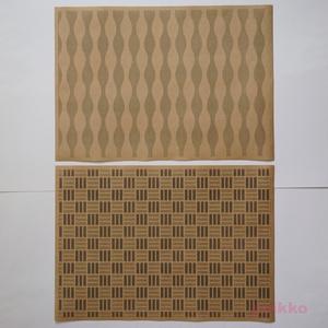 紙製ブックカバー 和柄パターン3