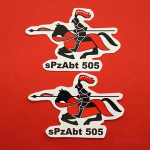 シールタイプステッカー 第505重戦車大隊マーク(2枚セット)