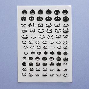ハロウィン かぼちゃ レジン封入用フィルム
