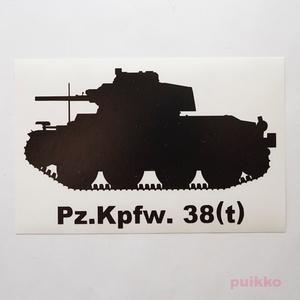 戦車ステッカー 38(t)