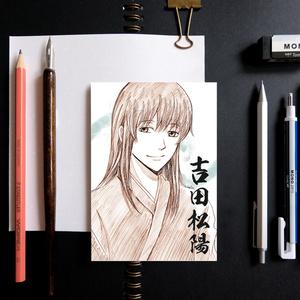 銀魂 スケッチ風 ポストカード