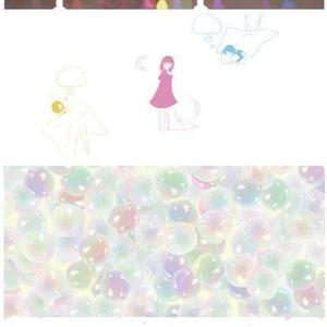 うつろいメヌエット・栞12枚セット