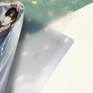 A4クリアファイル【ビニル骨傘と雨男】