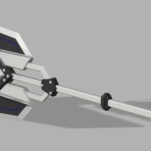 """3Dモデル KHM-001 """"EXECUTIONER"""""""