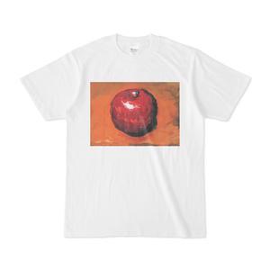 りんご 絵画 Tシャツ