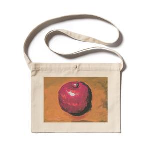 りんご 絵画 サコッシュ
