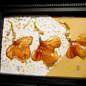 ◆◇金魚の耳飾り◇◆赤金