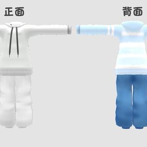 ワイドストリングパーカーセット for Kyoko