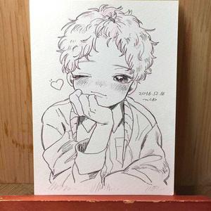 "drawing ""二人"""