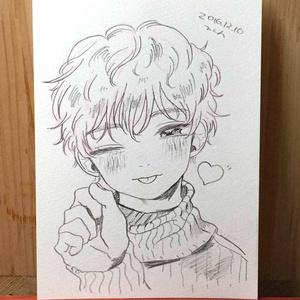 "drawing ""愛嬌"""