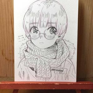 "drawing ""緊張"""