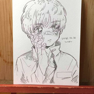 "drawing ""矜持"""