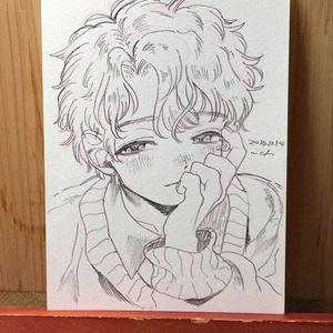 """drawing """"恋病"""""""