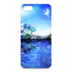 iPhoneケース fantasyBlue