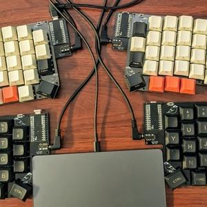 半組立済or完成品・Sparrow62 自作キーボードキット