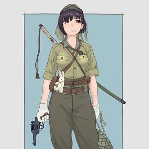 オリジナル下士娘ポスター