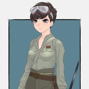 オリジナルCQC娘ポスター