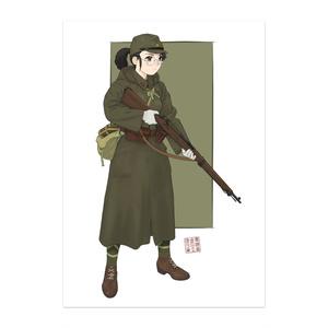 オリジナル短小銃娘ポスター
