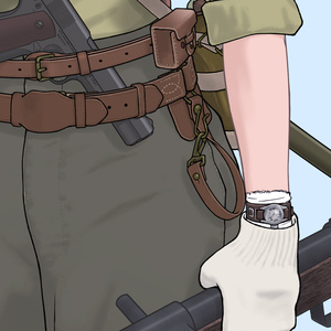 オリジナル機関短銃娘ポスター
