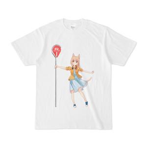 ハルちゃんTシャツ(おのみちバス停にて)