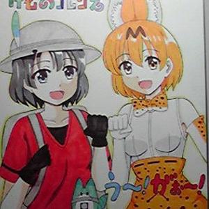 けものフレンズ色紙(送料込)
