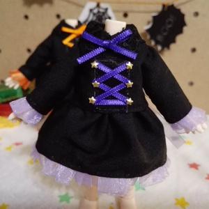 ハロウィン☆魔女っ子ワンピース☆オビツ11ボディ