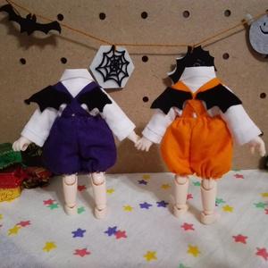 ハロウィン☆かぼちゃパンツセット☆オビツ11ボディ