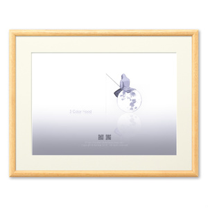 月と釣り人(複製画)