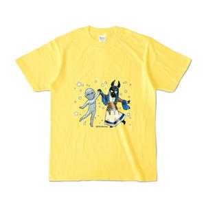アヌビスとミイラTシャツ