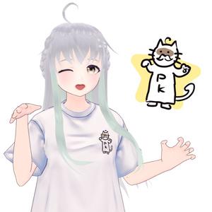 にゃんぽこ神Tシャツ【Vroid】
