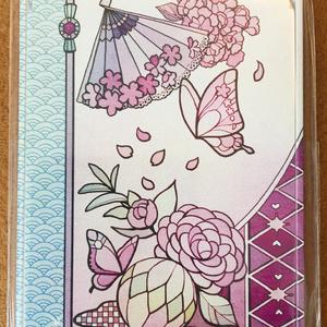 オリジナルミラー 桜・蝶・乙女椿より