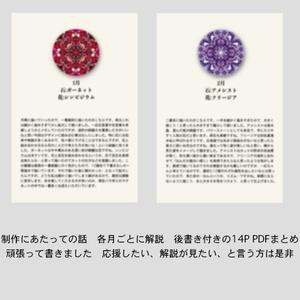【応援・DL用】誕生月壁紙・創作話