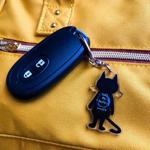 黒猫ぷーちゃん 小さいキーホルダー