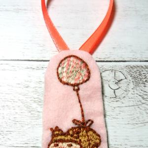 風船で移動 刺繍Ver 飾り物