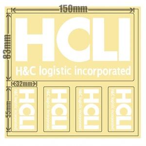 HCLIステッカー[white]