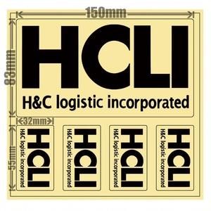 HCLIステッカー[black]