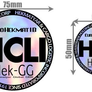 HCLIステッカー2nd[HOLO]