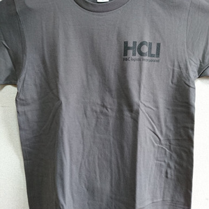 HCLI Tシャツ[ charcoal grey]