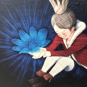 キャンバスアート 開花の王様
