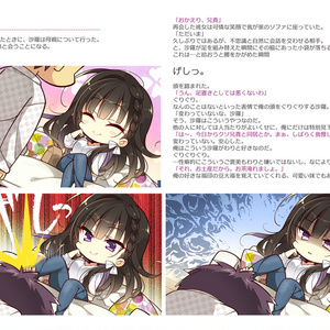 B5/116P同人誌 「カクウフレンドcompletebook☆」再販