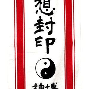 博麗神社夢想封印霊符タオル