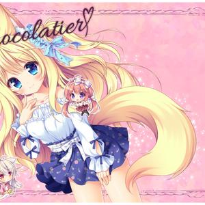 Chocolatier【イラスト線画ラフ本】