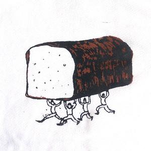 「パンを運ぶ人々」トレーナー